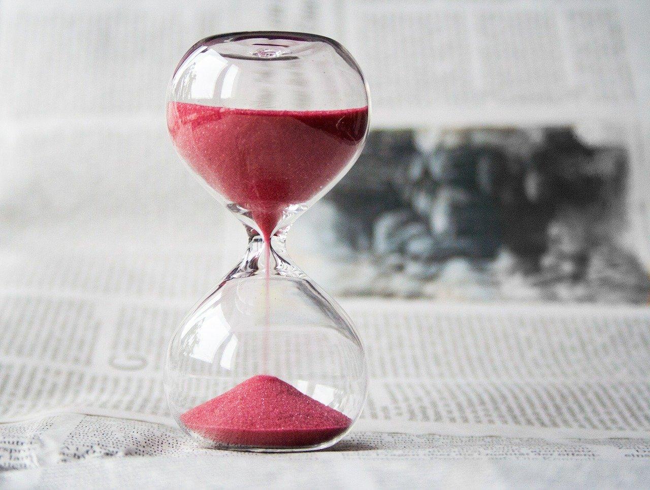 砂時計, 時間, クロック