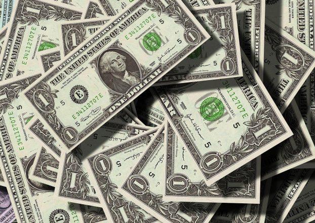 dollar, 通貨, お金
