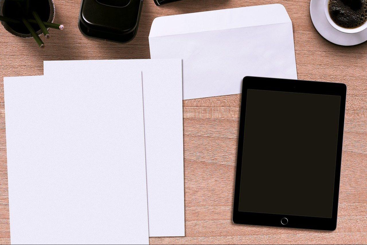 封筒と用紙