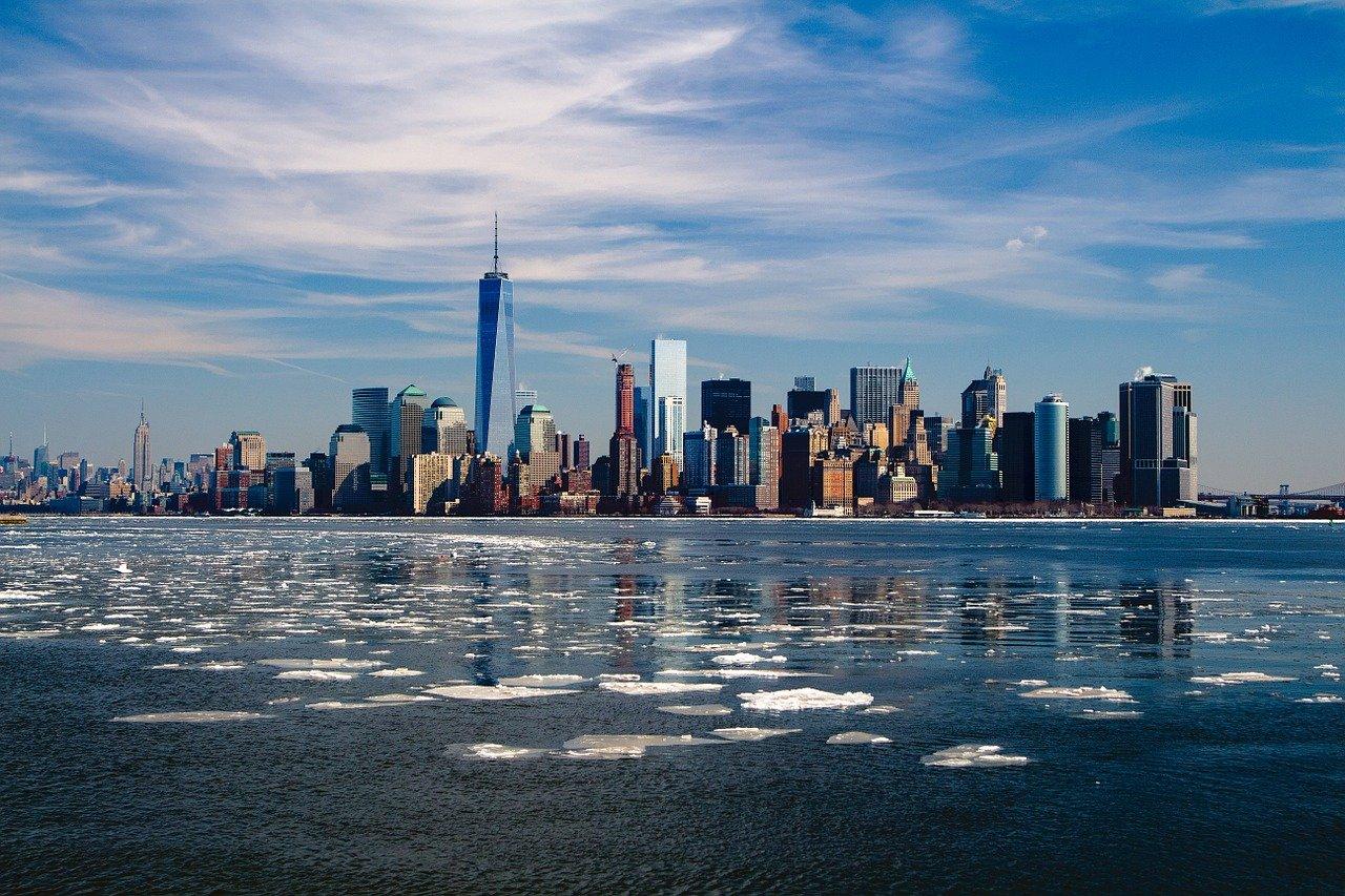 ニューヨーク,地平線,ニューヨークの街並み