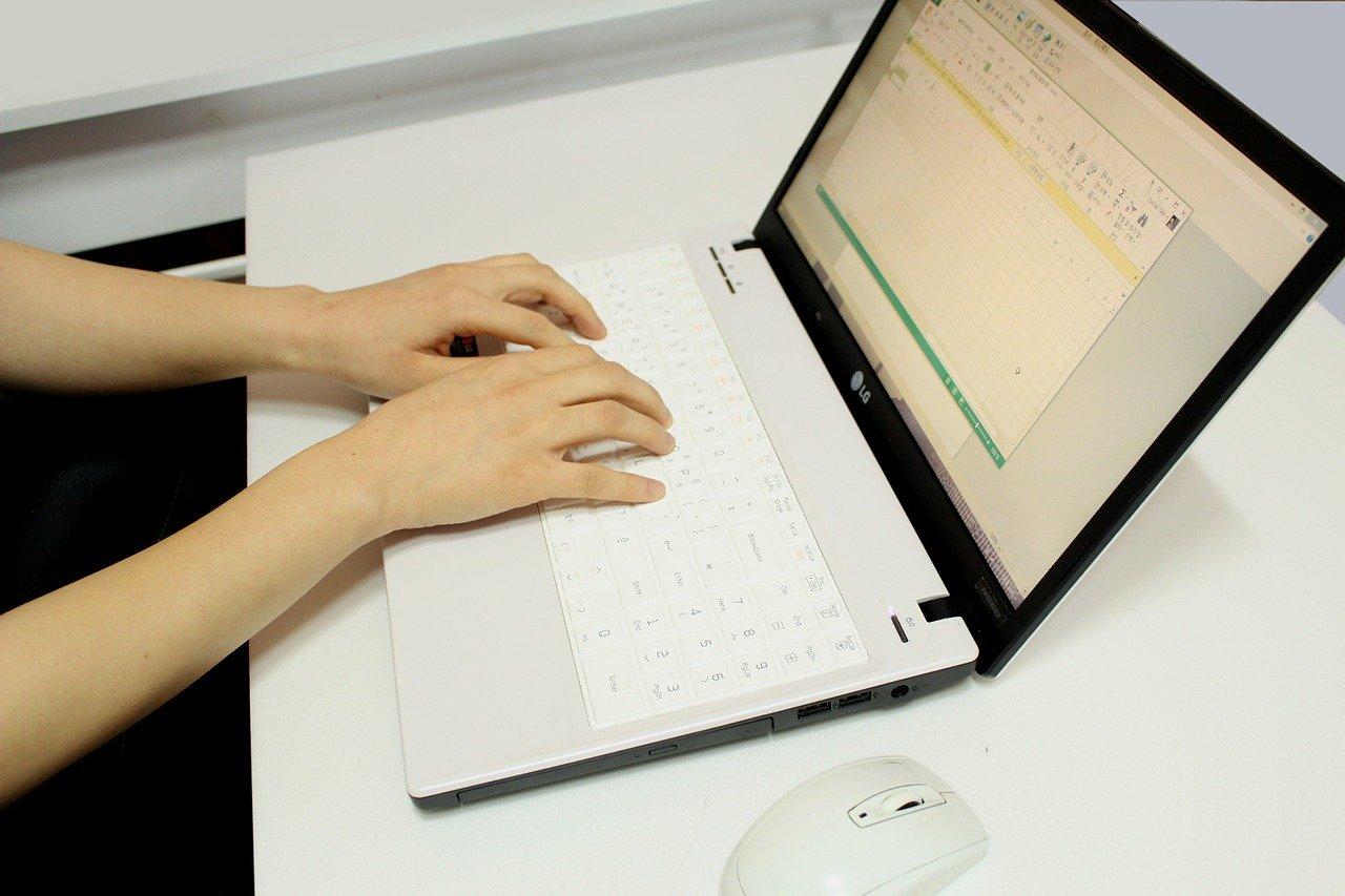 コンピューター作業