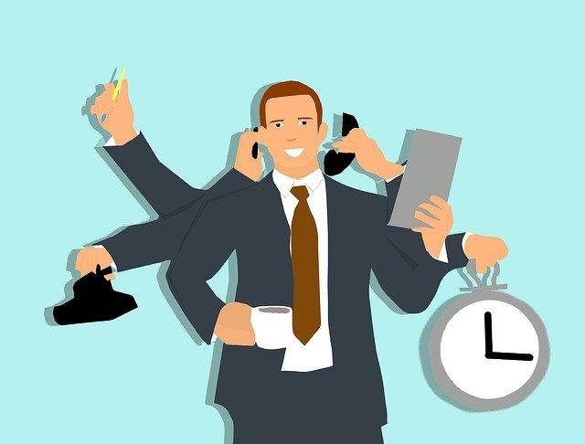 multi-tasking, efficiency, manager
