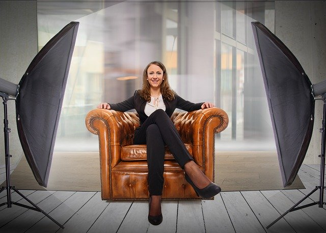 job interview, woman, female