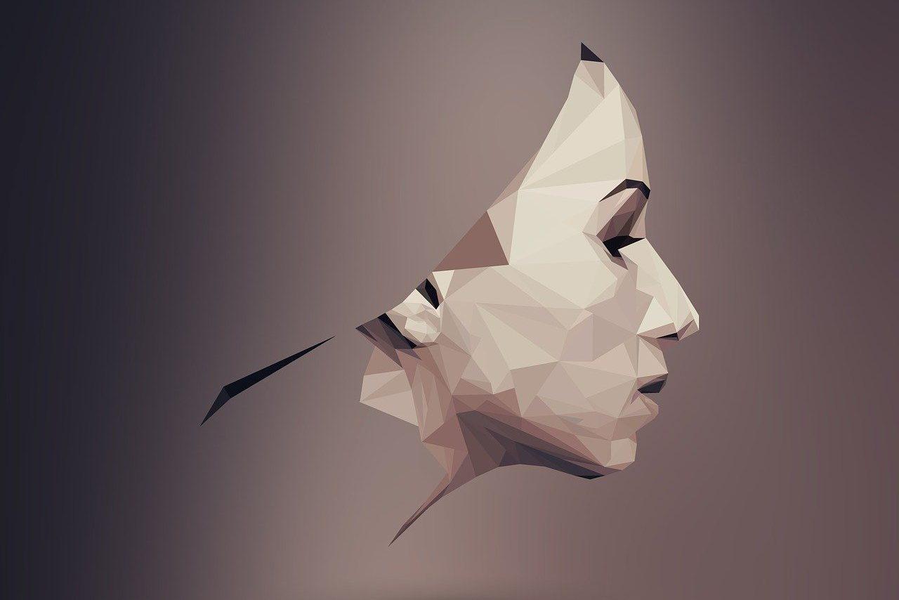 女性,顔,横顔