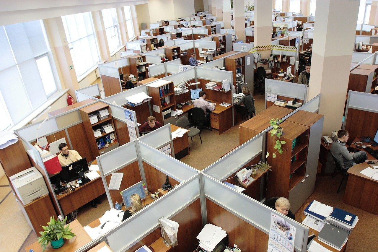 オフィス内の画像