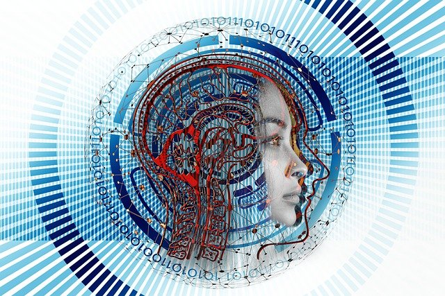 woman, robot, cyborg