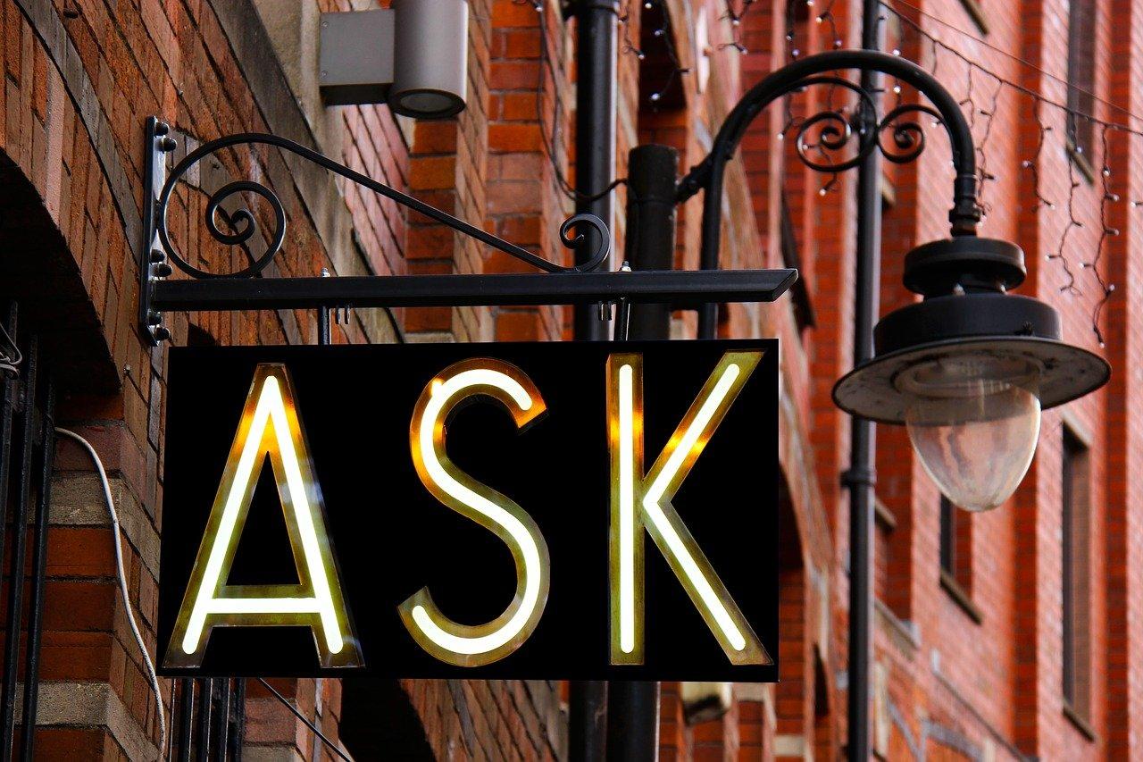 質問、デザイン