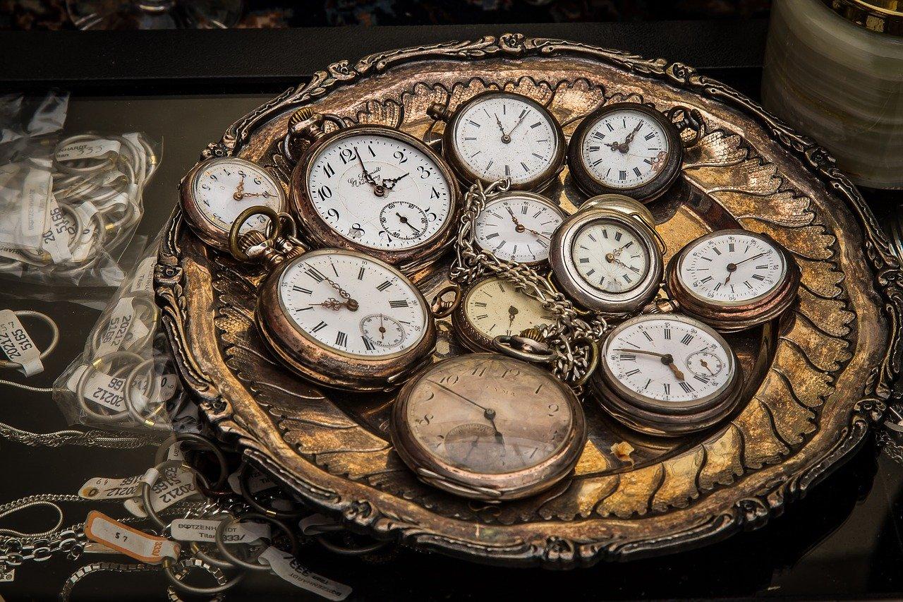 時計,懐中時計,動作