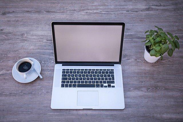 laptop, macbook, home office