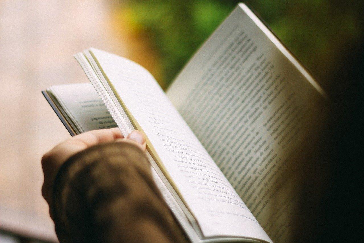 本、読書、ページ