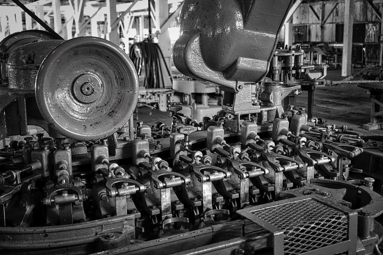 工場の機械