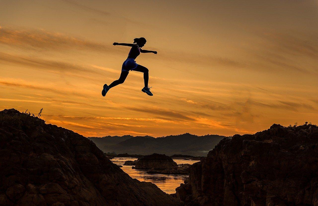 夢に向かってジャンプ