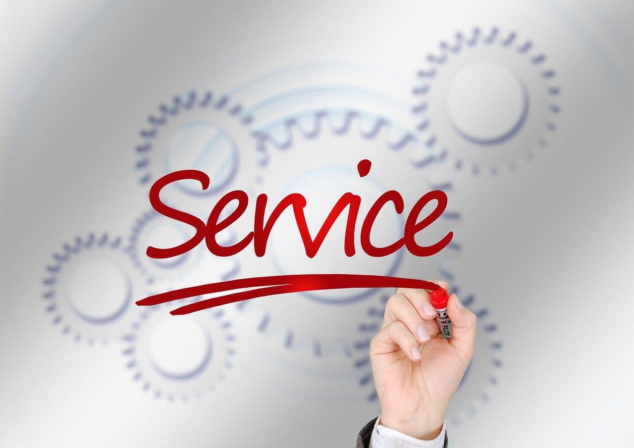 Serviceの文字