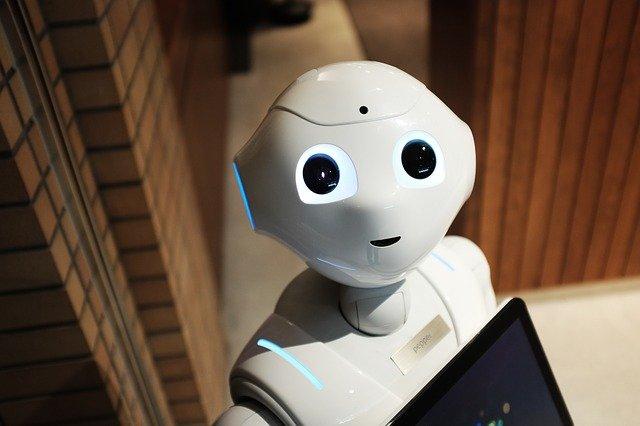 robot, technology, modern