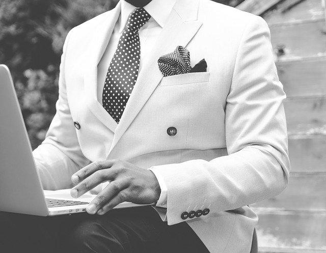 suit, man, dapper