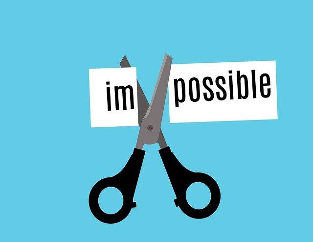 impossible, possible, attitude