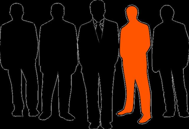 businessmen, leader, group