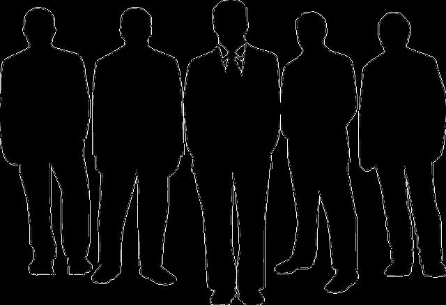businessmen, men, people