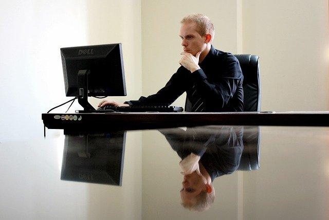 ビジネス, 実業家, 椅子