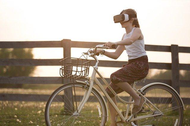 augmented reality, bicycle, bike