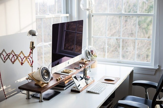 computer, keyboard, apple